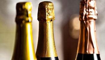 Vendite di champagne in calo