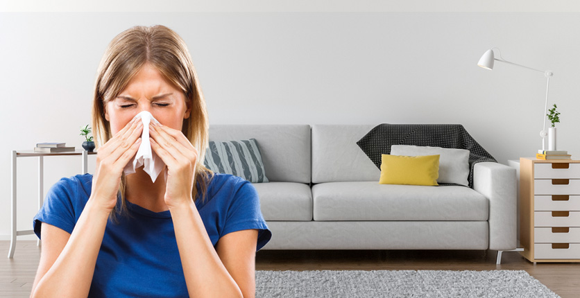 Come preparare la casa alla primavera e alle allergie!